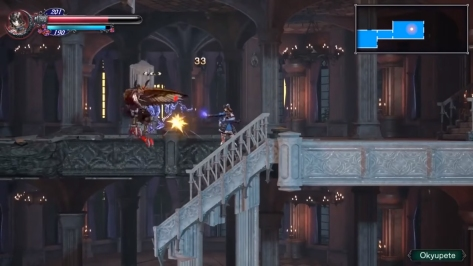 Bloodstained E3 2017 Trailer - Harpy  and Summoned Dog Skill