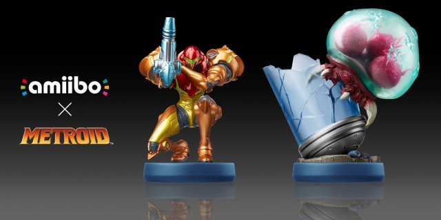 New Metroid: Samus Returns Amiibos
