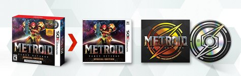 Metroid Samus Returns Special Edition