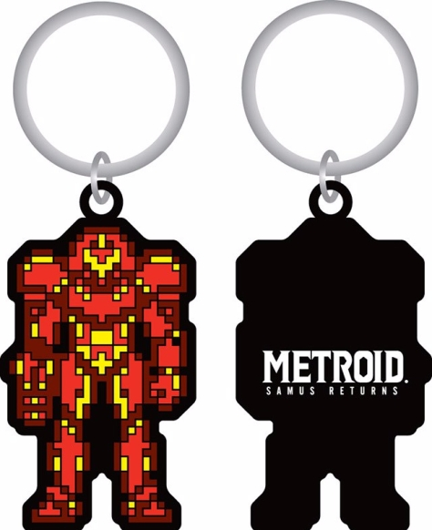 Samus Returns Gamestop Preorder Keychain