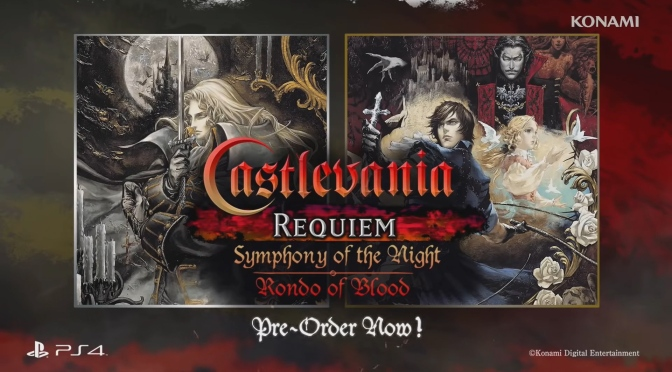 Castlevania Requiem Officially Announced By Konami Today